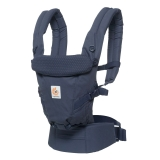 Adapt Ergo Baby Carrier Navy - Mini Dots