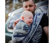 Слинг-шарф Didymos Jacquard Van Parade night blue