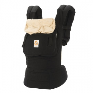 Ergo Baby Carrier Original - Black and Camel
