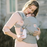 Adapt Ergo Baby Carrier - Pearl Grey