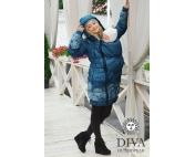 Слингокуртка Diva Outerwear Azurro