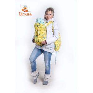 Слинговставка Гусленок цветы на желтом