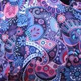 Слингодождевик Орнамент Черника (синий). ТМ Гусленок