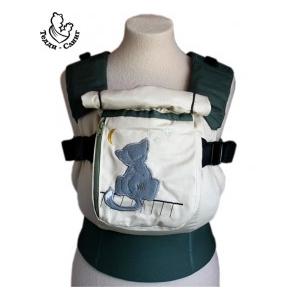 Мечта (серый) эргорюкзак Тедди слинг с изогнутыми лямками