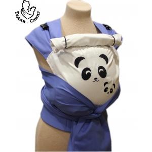 Панды голубой/белый рюкзак-май Тедди слинг