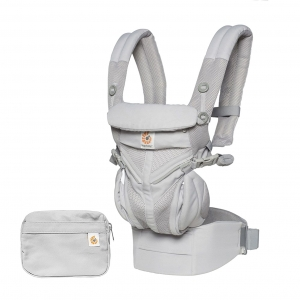 Ergo Baby Carrier Omni 360 Cool Air Mesh - Pearl Grey