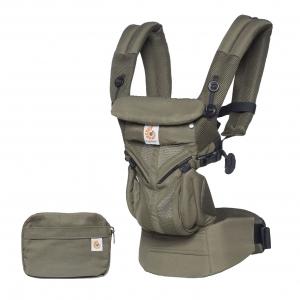 Ergo Baby Carrier Omni 360 Cool Air Mesh - Khaki Green