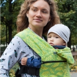 Слинг-рюкзак Karaush Leaves Spring растущий стандарт