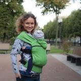 Слинг-рюкзак Karaush Leaves Summer растущий стандарт