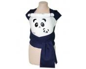 Панды темно-синий/белый рюкзак-май Тедди слинг