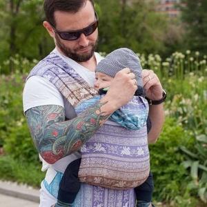 Слинг-рюкзак Карауш Kuzma Amethyst растущий стандарт