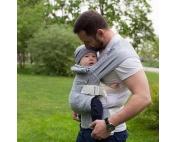 Слинг-рюкзак Карауш Kuzma Steel растущий беби