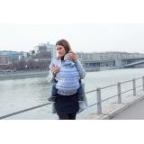 Слинг-рюкзак Карауш Adel Frost растущий беби