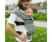 Слинг-рюкзак Карауш Kuzma Grass растущий беби