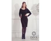 Платье для кормящих и беременных Diva Nursingwear Paola Nero