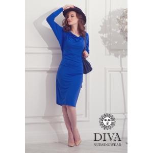 Платье для кормящих и беременных Diva Nursingwear Paola Azzurro