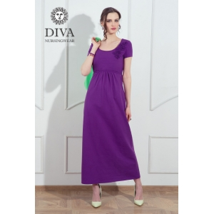 Платье для кормящих и беременных Diva Nursingwear Dalia Viola