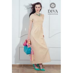 Платье для кормящих и беременных Diva Nursingwear Dalia Grano