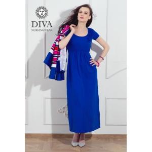Платье для кормящих и беременных Diva Nursingwear Dalia Azzurro