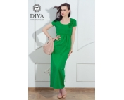 Платье для кормящих и беременных Diva Nursingwear Dalia Aloe