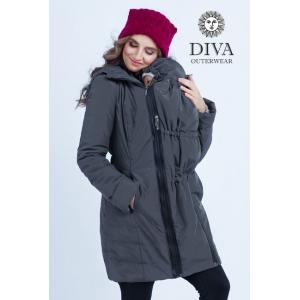 Слингокуртка зимняя 4 в 1 Diva Outerwear Grafite