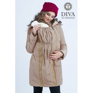 Слингокуртка зимняя 4 в 1 Diva Outerwear Moka