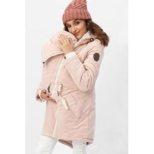 Зимняя слингокуртка - парка 3 в 1 Розовый