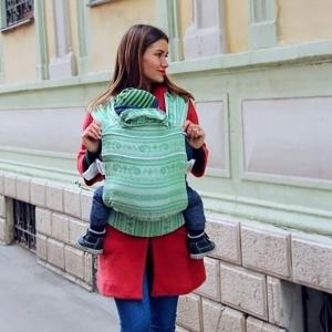 Слинг-рюкзак Карауш Adel Mint растущий стандарт