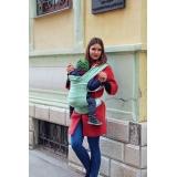 Слинг-рюкзак Карауш Adel Mint растущий беби