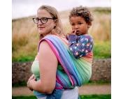 Слинг-шарф Didymos Lisca White Rainbow