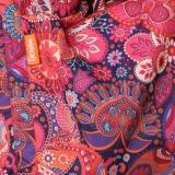 Слингонакидка плащевка утепленная - Орнамент Брусника (красный)