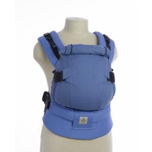 Эрго-рюкзак Тедди слинг мини-люкс ромбы голубой