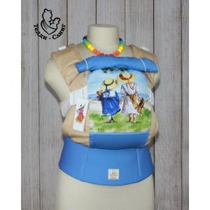 Эрго-рюкзак Тедди слинг ЛЮКС Детское настроение мишки