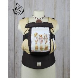 Эрго-рюкзак Тедди слинг ЛЮКС Детское настроение три малыша