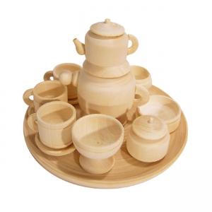 Комплект деевянной посуды