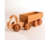 Деревянная машинка трейлер