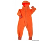 Слингокомбинезон Comfort оранжевый флис