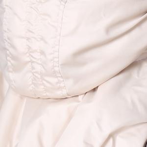 Слингонакидка плащевка утепленная - Молочная