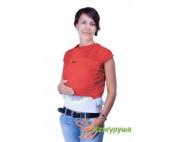 Трикотажный слинг-шарф Кенгуруша Classic коралл