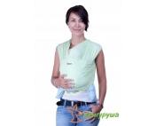 Трикотажный слинг-шарф Кенгуруша Classic фисташка