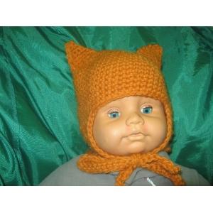Детская шапка Лисичка