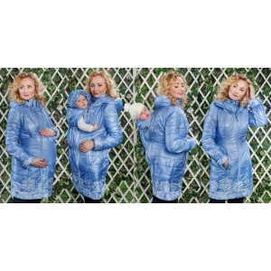 Слингокуртка демисезонная Diva Outerwear 4 в 1 Celeste