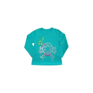 Блуза для девочки Нотки