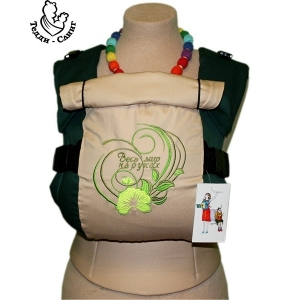 Эрго-рюкзак Тедди слинг ЛЮКС Весь мир на руках