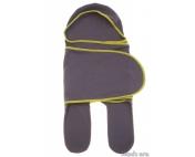 Комбинезон-конверт трикотажный Антрацит