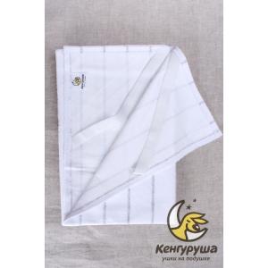 Пеленка непромокаемая Кенгуруша, silver line