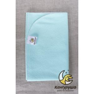 Пеленка непромокаемая Кенгуруша, fresh mint