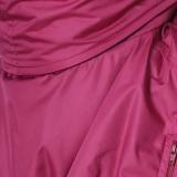 Муфта на коляску Гуслёнок теплая - Бордо