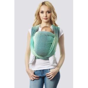 Слинг-шарф Градация лагуна алмазного плетения
