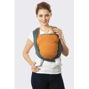 Слинг-шарф Casual оранжево-синий